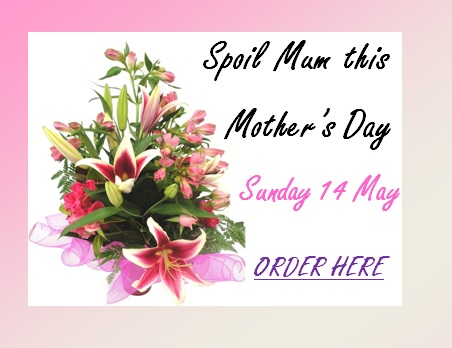 Order flowers for Mother's Day